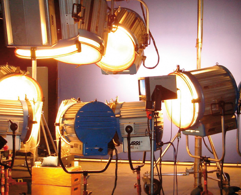Tungsten Lighting - Motion Picture Lighting