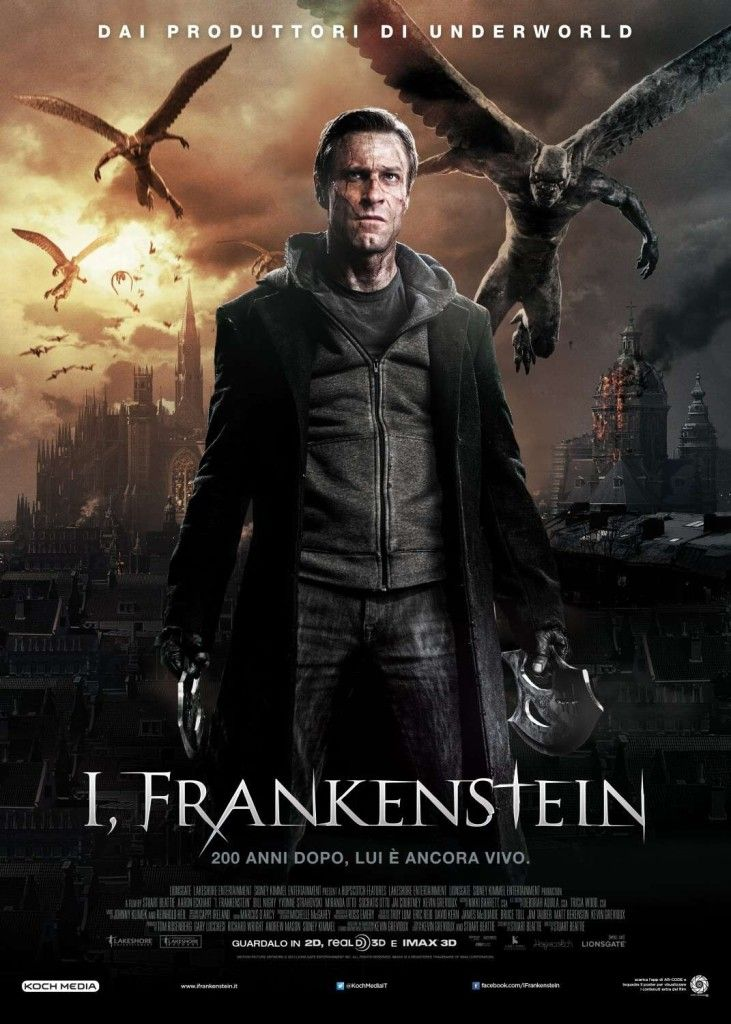 I Frankenstein Movie Motion Picture Lighting