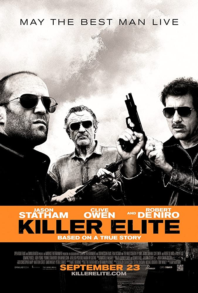 Motion Picture Lighting Credits - Killer Elite